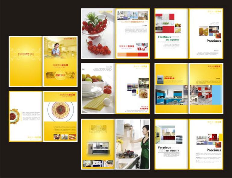 食品包装画册设计-东莞市视觉广告设计有限公司