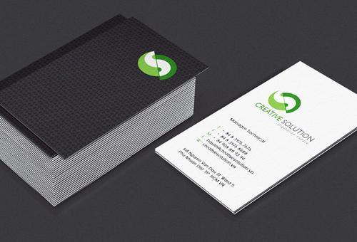 企业vi设计-高档名片设计-东莞视觉联盟广告有限公司