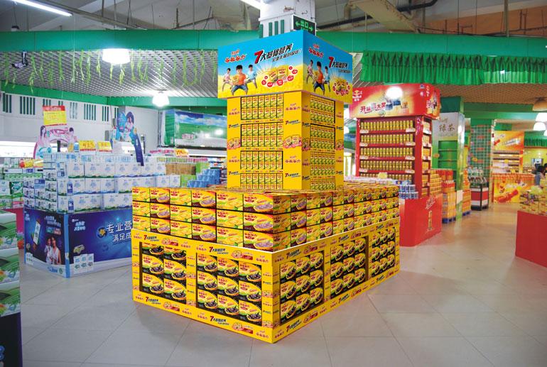 超市橱窗设计效果图
